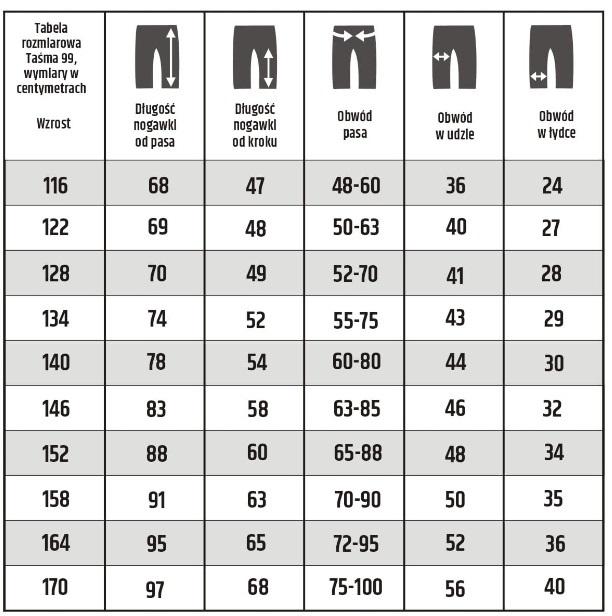 9d058d5a Spodnie dresowe chłopięce GANGS- model Ninety Nine Problems Rozmiary od 152  do 170